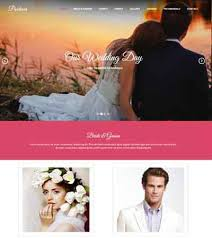Wedding Website Templates Mesmerizing Best Wedding Website Templates Free Download WebThemez