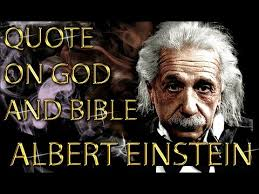 Einstein Quotes On God Delectable Albert Einstein Quote On God And Bible YouTube