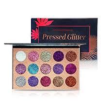 Beauty Glazed Makeup <b>15 Colors</b> Pressed Pallete Makeup Glitters ...