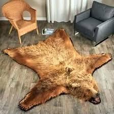 faux bear skin rugs rug bearskin o state room for nursery