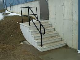 outdoor metal stair railing. Astounding Outdoor Metal Stair Railing Picture Inspirations Exterior Railings Custom Fences Rail R