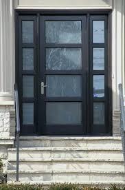 modern glass exterior doors modern front doors in black modern frosted glass entry door