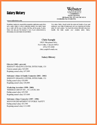 52 Salary History In Cover Letter Ideal Foundinmi