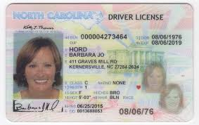 Id Driver's North Virtual Fake Carolina License