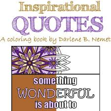 Inspirational Quote Coloring Book 25 Coloring Pages Quote Etsy