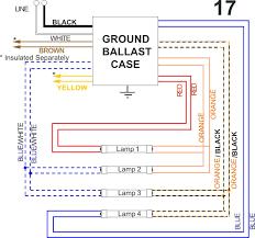 allansondiagram17 fluorescent ballast wiring diagram rapid start ballast wiring fluorescent ballast wiring diagram at j