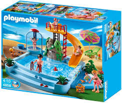 PLAYMOBIL POOL WITH SLIDE Top toys for 5 year old girls - TOP TOYS