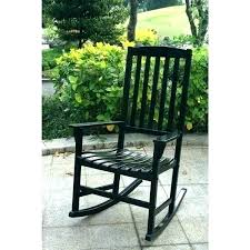 black outdoor rocker black outdoor rocking chairs rocker chair pads blue and co within decor wood black outdoor rocker double rocking chair