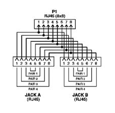 modular y bridge usoc 8 usoc 8 ecs204 1 diagram