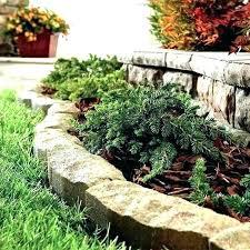 home depot garden edging brick best bricks landscape landscaping stones fence concrete edg