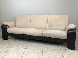 stressless leder sofa braun zweisitzer