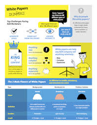 "the white paper faq frequently asked questions that white  ""king of content"" infographic infographic for white papers for dummies"