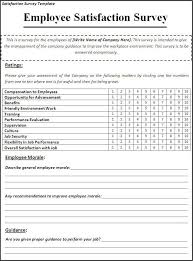 Job Satisfaction Survey Template Interesting Satisfaction Survey Template My Likes Pinterest Template
