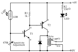 ldr gif here s an absurd description of professor vidyasagar telling a reader how to create a circuit a pnp transistor to operate the pnp transistor as a