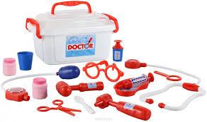 <b>Набор Palau Toys</b> Доктор №2 (в контейнере) — купить в ...