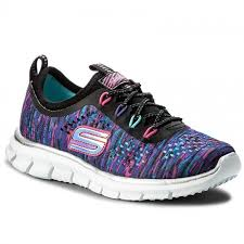 skechers shoes for boys. shoes skechers - deep space 81287l/bkmt black/multi skechers for boys