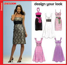 Dress Patterns Inspiration New Look 48 Misses Dress