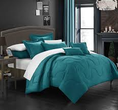 teal queen comforter. Chic Teal Comforter Set King Queen O