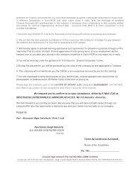 Internship Letter Of Intent Letter Of Intent Internship