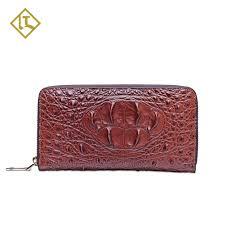 ostrich fiber zipper handbag full grain genuine leather handbag