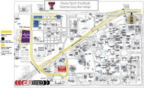 Texas Tech Jones Stadium Seating Chart Texas Tech Making Changes To Gameday Bus Traffic