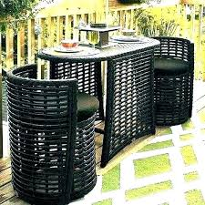 patio furniture for small spaces. Small Outdoor Furniture Patio Table Set  For Spaces