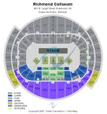 Richmond Coliseum Tickets And Richmond Coliseum Seating
