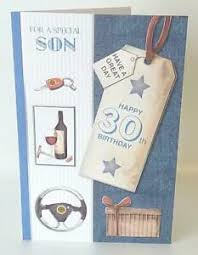 image is loading son 30th birthday sentimental verse age 30 quality