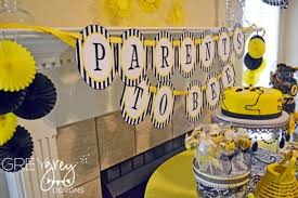 Real Parties Bees  Honeycomb Inspired Baby ShowerBumble Bee Baby Shower Party Favors