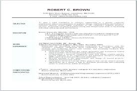 Example Of Objective For Resume Resume Career Objectives Objective ...