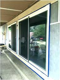 sliding patio door installation installing