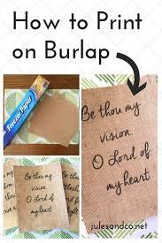 Decorating With Burlap Best 25 Burlap Decorations Ideas On Pinterest Picture Frame