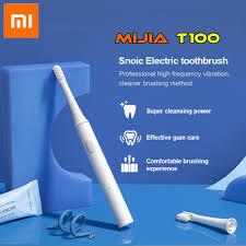 100% <b>Original</b> Xiaomi <b>mijia</b> T100 <b>Sonic Electric</b> Toothbrush Adult ...