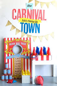gallery of circus211 for carnival party decorations diy