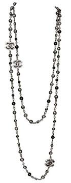 chanel necklace. this is the very first and last word in chanel necklaces! necklace e