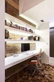 mid century modern home office. Love The Way This Fits Into A Small Space Mid Century Modern Home Office