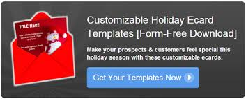 Free Holiday Ecard Templates To Customize For Your Leads And Customers