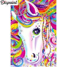 "<b>Dispaint Full</b> Square/Round Drill 5D DIY <b>Diamond Painting</b> ""Color ..."