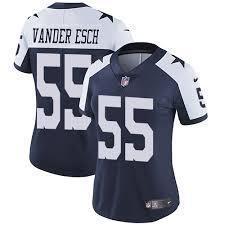 Dallas Throwback9282041 Esch 55 Blue Cowboys Vander Vapor Untouchable Football Alternate Youth Jersey Leighton Navy Limited