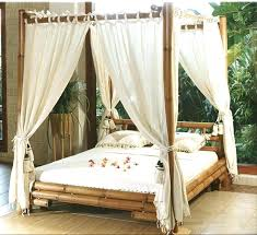 sheer curtains for canopy bed – sorgula
