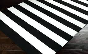 ikea striped rug runner rugs grey area and white 5 black jute