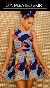 African Skirts Patterns Cool The Felted Fox AFRICAN PLEATED SKIRT DIY
