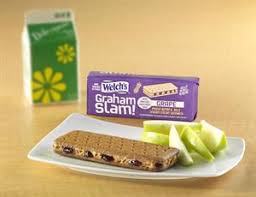 peanut er hfcs free g jelly on whole grain graham wafers