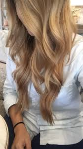 Summer Hair Beautiful Blonde Baylage Natural