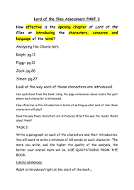 lord of the flies gcse prose essay activity pack by streetno  lord of the flies gcse prose essay activity pack by streetno9 teaching resources tes