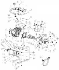wiring diagram for coleman powermate generator wiring powermate pm0435001 parts list and diagram ereplacementparts com on wiring diagram for coleman powermate generator