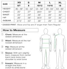 Inseam Measurement Chart By Height Teens Size Chart Sport Obermeyer