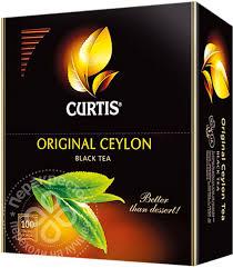 Купить <b>Чай</b> черный <b>Curtis Original Ceylon</b> 100 пак с доставкой на ...