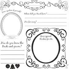 Wedding Guest Book Template Wedding Coloring Book Template Awesome Wedding Guest Book Pages