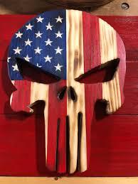 small wood punisher skull punisher